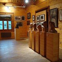 Wnętrze Muzeum, wystawa stała