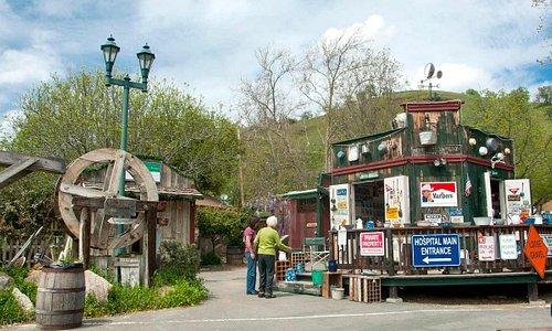 Coarsegold Village.  Photo by Nancy Robbins