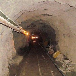 tunel de la mina el Nopal