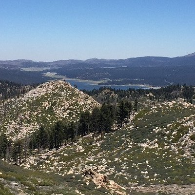 View from Butler Fire Lookout
