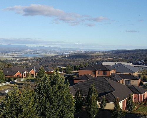 從觀景台俯瞰渡假村