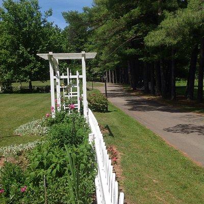 Garden into park