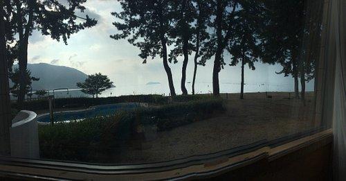 Pretty Biwa Lake in Japan.