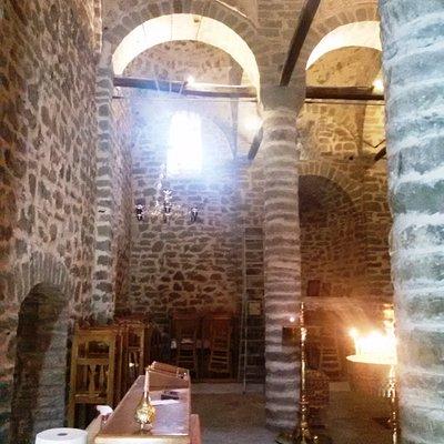 Εσωτερικό του ναού