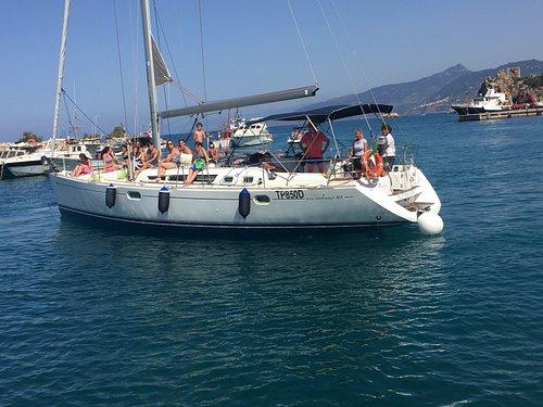 alessandra sailboat