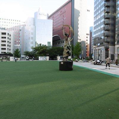 普段の広場の様子