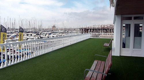 View of Rear Terrace