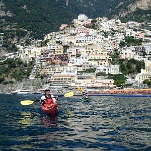 Stunning view of Positano!