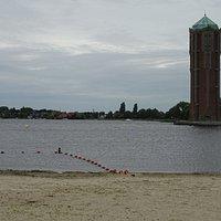 Art Deco watertoren aan de Westeinderplassen;Aalsmeer