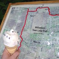The Williamson Town Loop stops by Yia Yia's