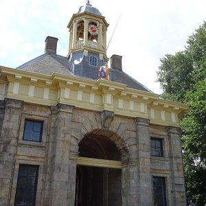 Koepoort of wester -poort uit 1654;Enkhuizen july 2016