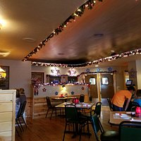 Mad Dan's main dining area