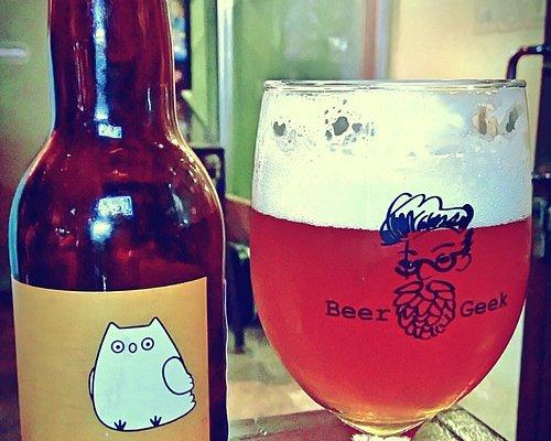 Always have cool beer @ BeerGeek !
