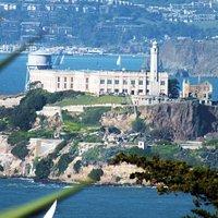 Telegraph Hill, a cruel climb - but worth the 360o views of all of San Francisco