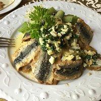 Интересное рыбное блюдо