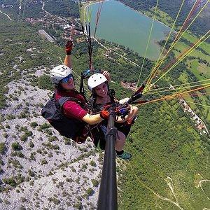 Paragliding tandem Croatia