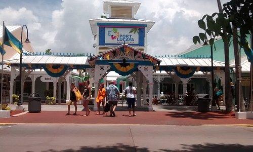 Entrance to Port Lucaya Marketplace