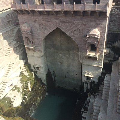 Breathtaking step-well in Jodhpur.