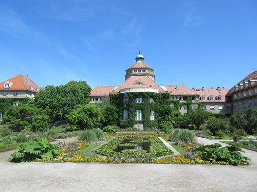 ein Teil des Botanischen Gartens