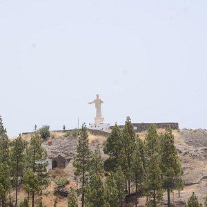 Statua Chrystusa na wzgórzu La Cilla