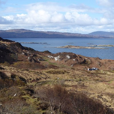 Looking south to the Ardnamurchan Peninsula