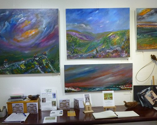 Some paintings of local scenery