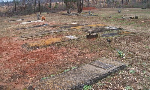 The very old historical Cemetery on the Grounds of the Church.