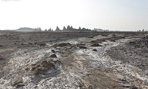 Le Lac ABBE, lieu désertique