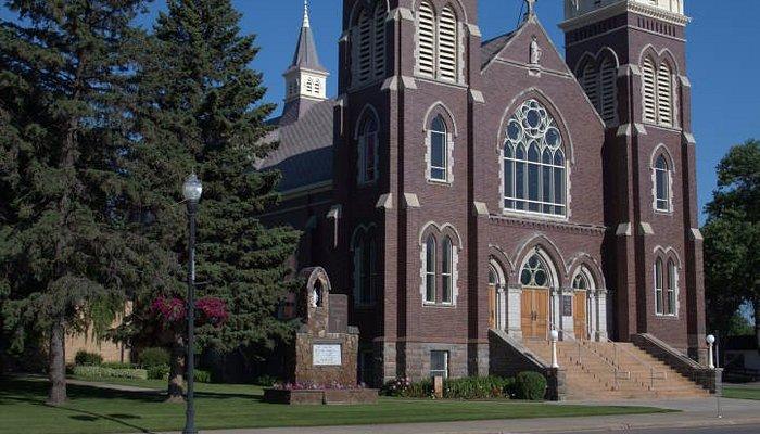 St. James Basilica, Jamestown, N. Dakota. June 2016