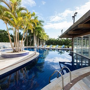 The Pool at the Hotel Torres da Cachoeira