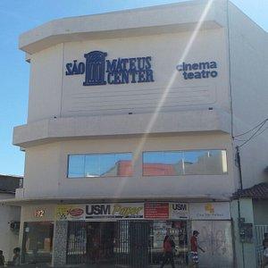 Fachada do prédio onde fica o Cinema de São Mateus