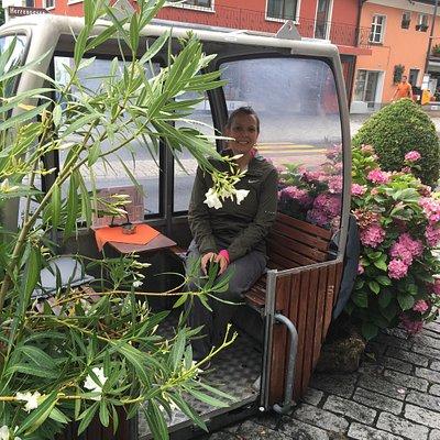 Great Little Restaurant and Beer Garden in Vaduz, Lichtenstein