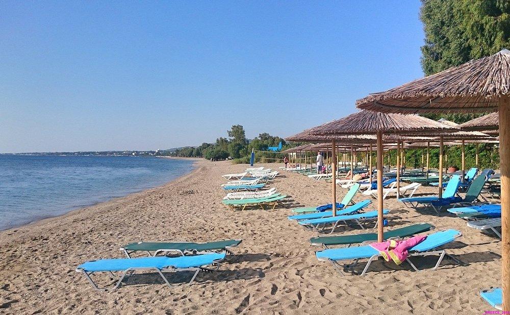 Marathon beach, view from Marathon to Nea Macri