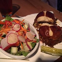 Pulled Pork with Salad