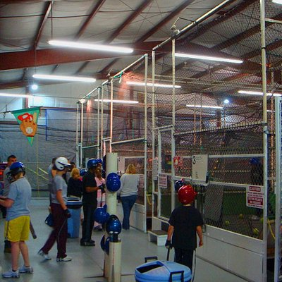 Interior with Batting Cages