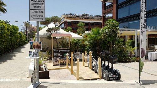 G2Move location in Gran Guadalpin in Puerto Banus
