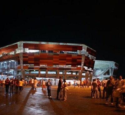 Estadio Metropolitano de Lara, vista desde afuera