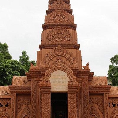 Wat Tham Phu Wa front door