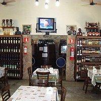 Restaurante com bar
