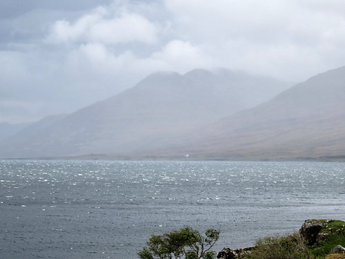 View from Loch na Keal road