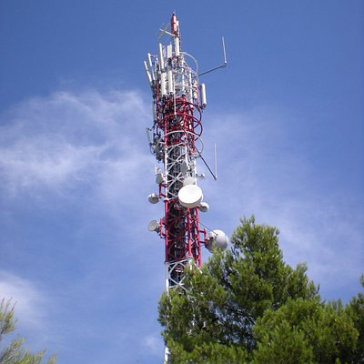 Radio station at summit