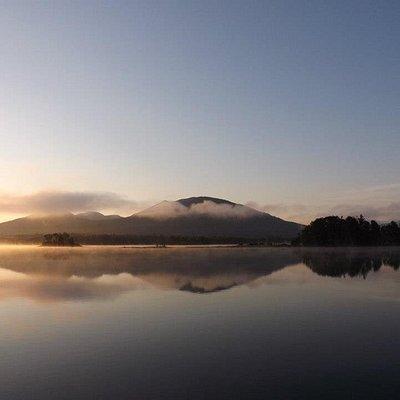 Sunrise Flagstaff Lake/Bigelow Mountain