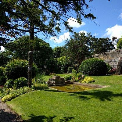 Garden at Hauteville House