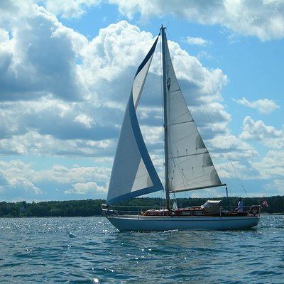 Sail on Penobscot Bay