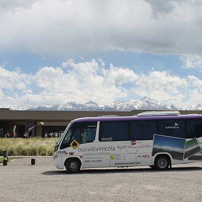 Recorré los Caminos en el Bus Vitivinícola