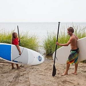 Paddle the surf or the sound!