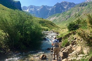 Fly fishing the Pyrenees