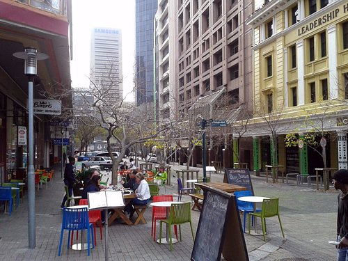 St. Georges Mall - Cape Town, South Africa