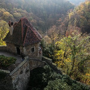 A viev from the Ksiaz Castle
