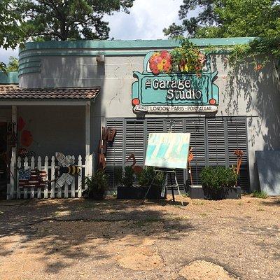 The Garage Studio gift shop